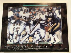 rick rush marino miami on the move limited edition Of 5000 great athlete series