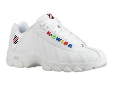K-SWISS ST329 CMF Men/'s Casual Shoes White 03426-130-M  Fast Shipping SSHS