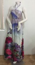 Halter Long 100% Silk Dresses for Women