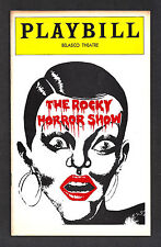 "Tim Curry ""ROCKY HORROR SHOW"" Meat Loaf 1975 FLOP Playbill with Ticket Stubs"