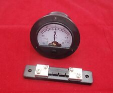 DC Minus Zero Plus -50A-+50A Analog Dia.90mm Analogue Ammeter AMP Panel meter