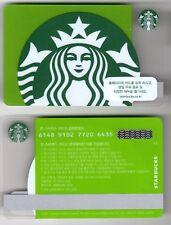 South Korea Mint Starbucks Gift Card Depicting Starbucks Logo
