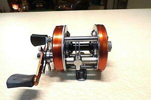 ABU GARCIA AMBASSADEUR FISHING REEL - COPPER 5500 - SUPER CLEAN & WORKS GREAT..
