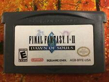 Final Fantasy 1 + 2 Dawn of Souls Gameboy Advance GBA GAME BOY