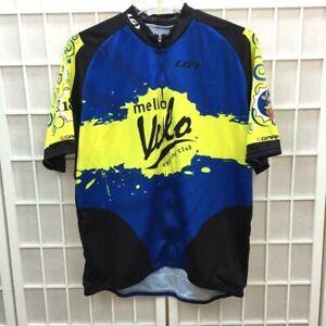 Louis Garneau Cycling Jersey Size XXL Short Sleeve Zip Front Mello Velo Club