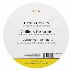 Gigi - Clean COLLARS Designed for 14 oz warmers  --  FREE SHIPPING!