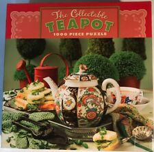 The Collectible Teapot 1000 Piece Jigsaw Puzzle -  27X20 - CEACO - 3313-4 - New