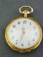 alte Damen Taschenuhr 585/- Gold