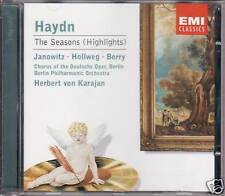 "KARAJAN ""HAYDN: THE SEASONS - HIGHLIGHTS"" CD 2002 emi"