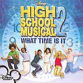High School Musical 2 Cast : What Time Is It Enhanced CD 1 Disc CD qpmz NEW
