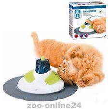 Catit DESIGN SENSES Massage-Center, Katzen-Spielzeug-Zahn & Fell-Pflege 50720