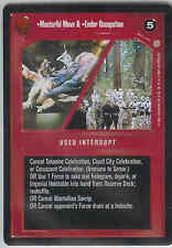 STAR WARS CCG CORUSCANT Masterful Move/Endor Occupation