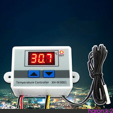 XH-W3001 Digital LED Microcomputer Thermostat Temperature Controller Switch 220V