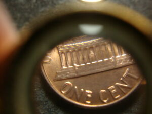 1983 DDR BU RED Lincoln Head Cent Nice Doubling GRS