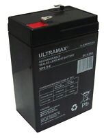 Lithonia ELU8 12 V 36AH Alarme Remplacement Yuasa Batterie