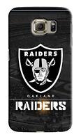 Oakland Raiders Samsung Galaxy S4 5 6 7 8 9 Edge Note 3 - 9 Plus Case Cover 06