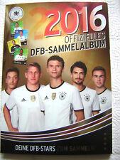 REWE DFB EM 2016 FRANKREICH - Sammelalbum Komplett mit 36 Glitzer Karten & s.u !