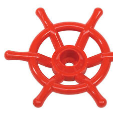 STEERING WHEEL BOAT~ RED Cubby House Accessories Playground Equipment Fort