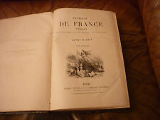 Livre 19em Histoire de France de Henri Martin 6 volumes