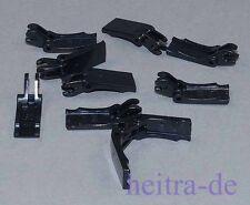 LEGO - 10 gancio, GREIFARM/cerniera/PINZA NERO/4221 merce nuova (x2)