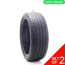 Set Of 2 Used 24540r20 Pirelli P Zero Pz4 Run Flat 99y 8532 Fits 24540r20