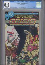 Crisis on Infinite Earths #2 CGC 8.5 1986 DC Comic 1st App Anti-Monitor in Cameo