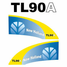 New Holland TL90A tractor decal aufkleber adesivo sticker set