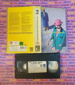 VHS PET SHOP BOYS Performance 1992 PMI MVD 9913383 no cd dvd lp (VM4)