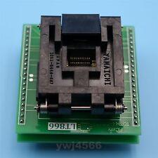 LT866 Yamaichi IC Test Socket TQFP44 QFP44 To DIP40 0.8mm Programmer Adapter