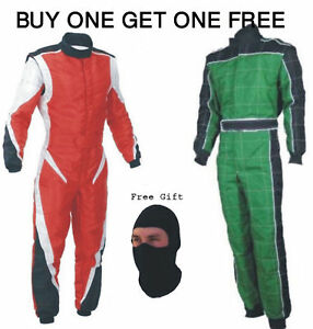 Go Kart Race Suit Buy One get One Free (Free gifts included)