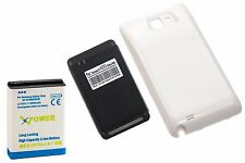 5000mAh Extended Battery + Cover + Charger for Samsung Galaxy Note 1 i9220 XpWte