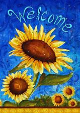 Toland Home Garden Sweet Sunflower 28 X 40 Inch Decorative Summer Welcome Flower