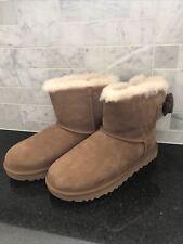 Women's UGG Mini Bailey Corduroy Chestnut Boots- size 7- #1117650