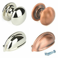 M4TEC Cup Kitchen Cabinet Door Handles Cupboard Drawer Bedroom Furniture Pull