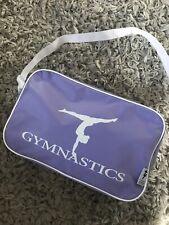 Chicas gimnasia Gimnasia Deportes Bolso Excelente Con Estuche Deporte Púrpura Lila