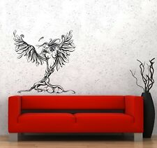 Wall Decal Angel Beautiful Sexy Naked Girl Nature Tree Vinyl Sticker (ed804)