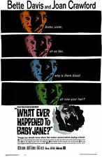 WHATEVER HAPPENED TO BABY JANE? Movie POSTER 11x17 B Bette Davis Joan Crawford