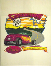 "1997 Andy Brizzio ""Drive Em"" Tour Shirt Silk Screen Test Pellon/Poster-22"" x 17"""