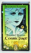 Cosmic Tarot by Norbert Losche made in West Germany  1983