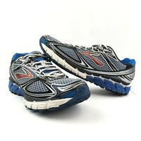 Brooks Mens Ghost 5 Running Shoes Size 9.5 D Blue Gray