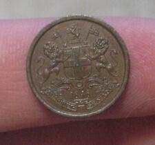 British India - 1848 Copper 1/12 Anna - Nice Coin!