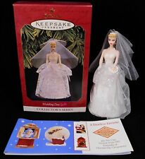 Hallmark 1997 Barbie Wedding Ornament 4th in Nostalgic Series in Box Keepsake