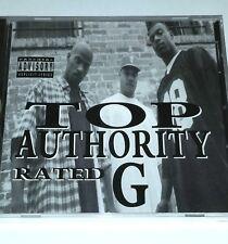 "TOP AUTHORITY SEALED RAP CD DJ CLUE G FUNK lp 12"" random nwa dr dre 2pac eazy e"