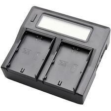Fast LCD Battery Charger for JVC SSL-JVC50 SSL-JVC70 GY-HM600 GY-HM650 GY-LS300