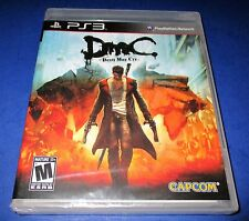 DmC: Devil May Cry Sony PlayStation 3 *Factory Sealed! *Free Shipping!