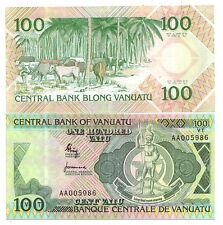 Vanuatu 100 Vatu 1982   Pick 1  FDS UNC  rif  4054