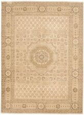 """Han-knotted Indian rug. 9'x 12'4"""""""