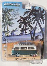 HOBBY EXCLUSIVE 1972 VOLKSWAGEN TYPE 2 VAN BUS With SURFBOARD HTF