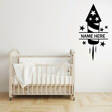 Customized Monogram Firecracker Nursery Wall Decal