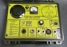 AIRBORNE ELECTRONICS HEADSET & INTERCOM TESTER Aviation Test Unit Aircraft NEW!